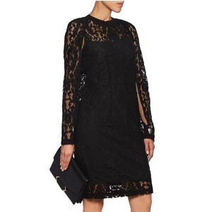 DKNY Lace Knee Length Dress